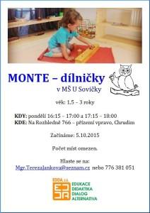 montessori dilnicky s Terkou